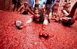 Tomatino Festival in Bunol
