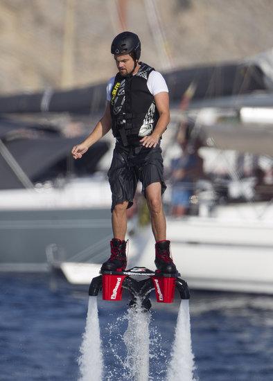 Leonardo DiCaprio in Ibiza