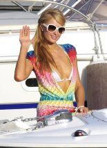 Paris Hilton in Ibiza