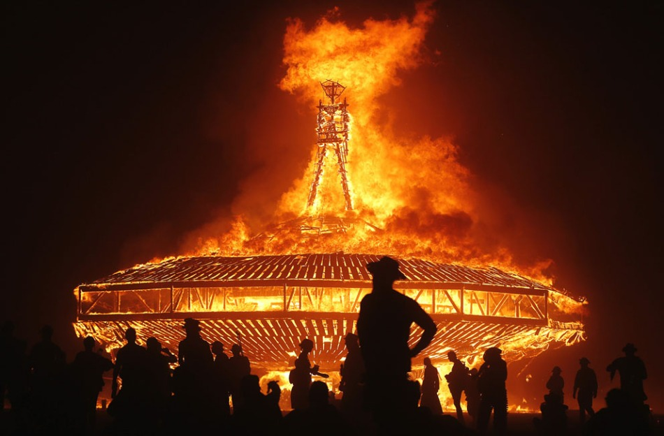 The Burning Man 2013