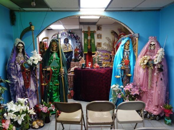 Templo Santa Muerte Los Angeles CA